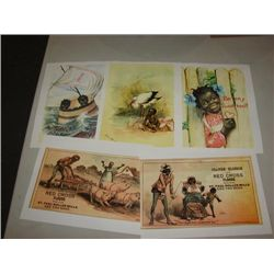 LOT 8 PRINTS SAMBO BLACK AMERICANA ADVERTISING