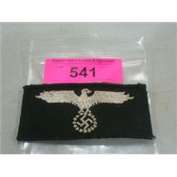 WWII THIRD REICH MILITARY SWASTIKA EAGLE PATCH