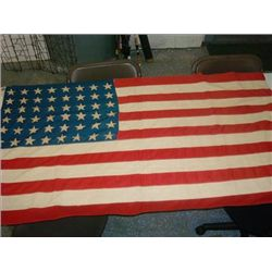 VINTAGE 48 STAR AMERICAN FLAG USA OLD GLORY
