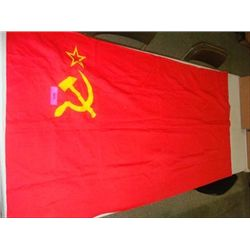 VINTAGE USSR COMMUNIST RUSSIAN FLAG