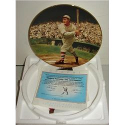 DELPHI BRADFORD EXCHANGE ROGERS HORNSBY PLATE
