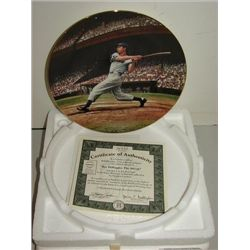 THE BRADFORD EXCHANGE JOE DIMAGGIO PLATE