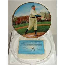 DELPHI BRADFORD EXCHANGE CY YOUNG PLATE