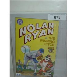DC COMICS NOLAN RYAN THE WINNING PITCH COMIC BOOK