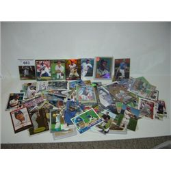 LOT 100+ BASEBALL CARDS TOPPS PINNACLE