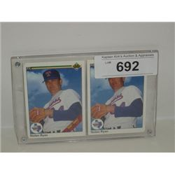 LOT 2 UPPER DECK #734 NOLAN RYAN BASEBALL CARDS