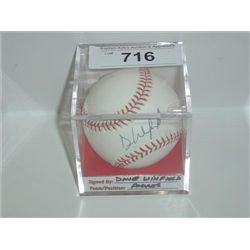 RAWLINGS BASEBALL DAVE WINFIELD AUTOGRAPH