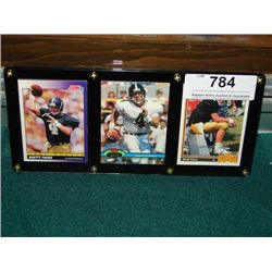 LOT 3 BRETT FARVE ROOKIE FOOTBALL CARDS
