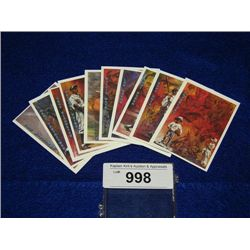 COOPERSTOWN COLLECTION 93 ALL STAR SET 10 CARDS