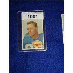 TOPPS #4 RAY BERRY FOOTBALL CARD COLTS