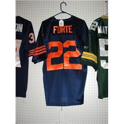 MATT FORTE #22 CHICAGO BEARS JERSEY REEBOK