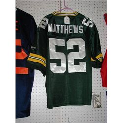CLAY MATTHEWS #54 GREEN BAY PACKERS JERSEY