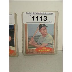 TOPPS #470 AL KALINE BASEBALL CARD SPORTING NEWS