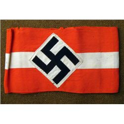 ORIGINAL HITLER YOUTH ARMBAND WORN BY A HJ MEMBER