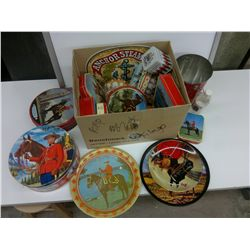Collection of RCMP themed Tins