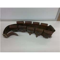 Leather ammo belt 1916 Montreal