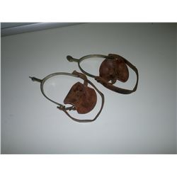 Pair of Leather Spurs