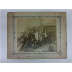 Photograph Barque  Inch Keeth  of Glasgow, R Rankin Commander L 9in H 8in