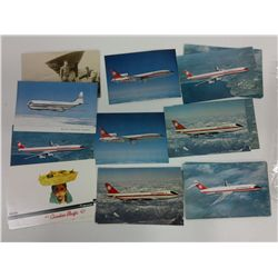 Bag of Plane/Aircraft Themed Post cards
