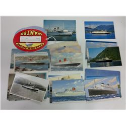 Bag of Naval Themed Postcards