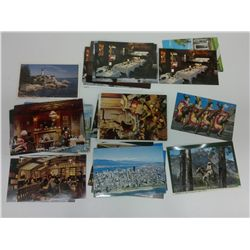 Bag of BC postcards