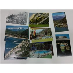 bag of Harrison Hot Springs themed Postcards