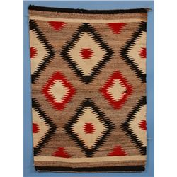 Navajo Rug ca. 1940-1960  36 x 50   Fair Condition with Holes