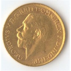 1918 S George V Sovereign