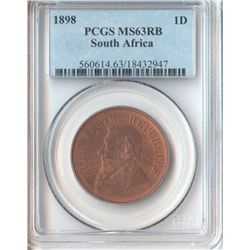 South Africa 1898 Penny