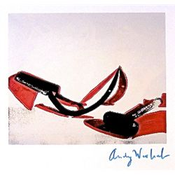 ANDY WARHOL, Signed Print, Hammer and Sickle