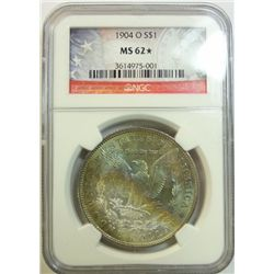 1904O Morgan $  NGC62 star