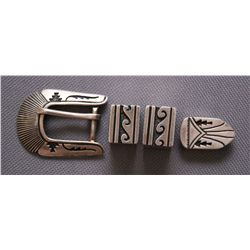 NAVAJO RANGER BUCKLE SET