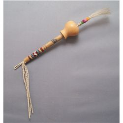 PLAINS PEYOTE RATTLE