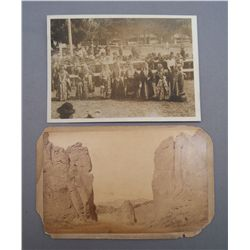 OLD PHOTOGRAPH AND CABINET CARD