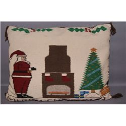 NAVAJO TEXTILE CHRISTMAS PILLOW