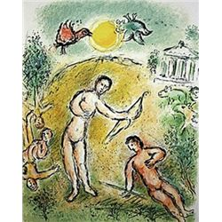 The Massacre of the Candidates by Chagall from the Odyssey Suite.