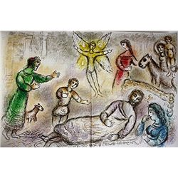Peace Rediscovered by Chagall from the Odyssey Suite.