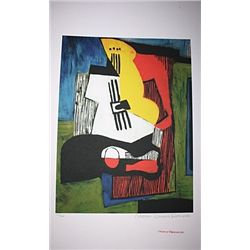 Limited Edition Picasso - Still Life With Guitar - Collection Domaine Picasso