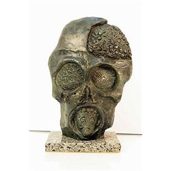 Salvador Dali Enchanting Original, limited Edition Bronze - Traces of War