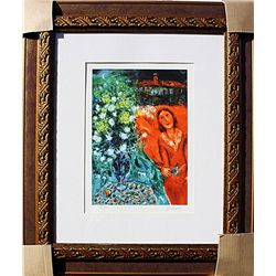 Nighttime Bouqet  - Chagall - Limited Edition