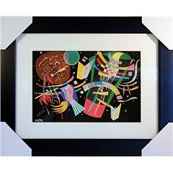 Wassily Kandinsky Limited Edition-Composition X