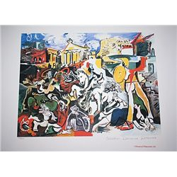 Limited Edition Picasso - The Rape of the Sabine Women - Collection Domaine Picasso
