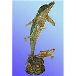 Bronze Sculpture - New Beginnings by D. Scott