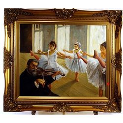  The Rehearsal  -Degas inspired