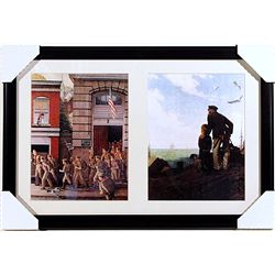 Norman Rockwell Lithographs