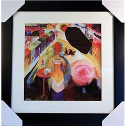 Wassily Kandinsky Limited Edition-Lady in Moscow