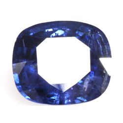 Natural 5.51ctw Ceylon Sapphire Emerald Cut Stone