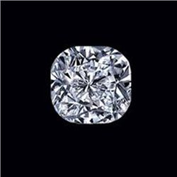 Diamond EGL Certified Cushion 1.21 ctw G, VS2