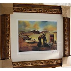 Salvador Dali Signed Limited Edition - Warning Of Furniture - Nutrition