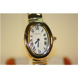Lady's Beautiful Cartier Reproduction Watch.